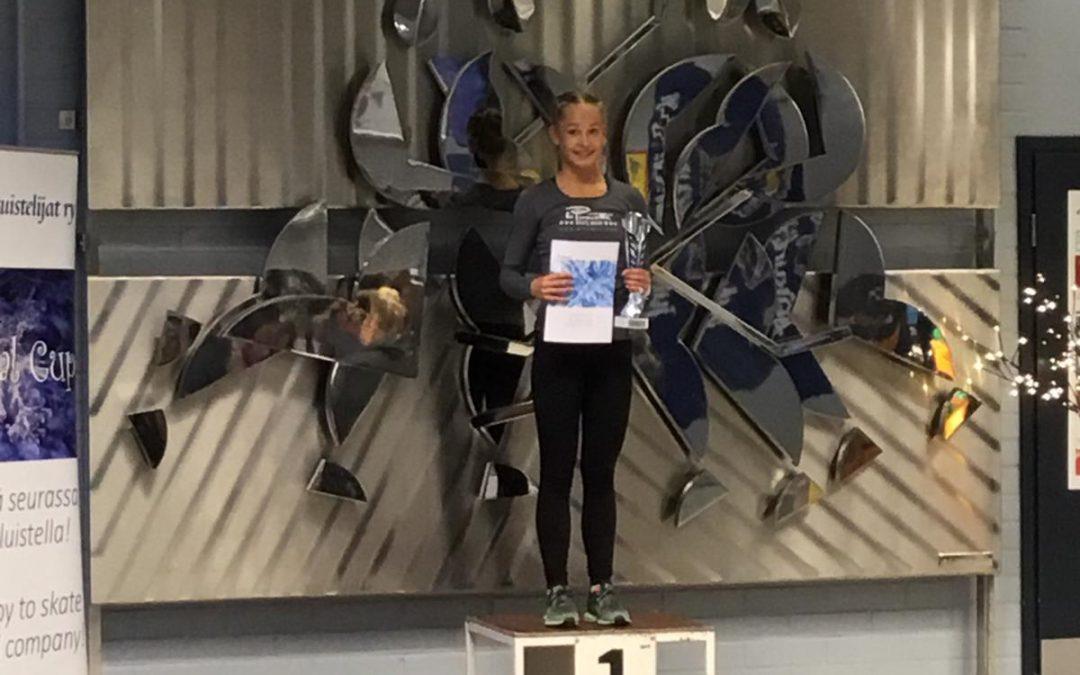 IC Crystal Cupissa Mikkelissä kisattiin viikonloppuna – Roosalle kultaa, Hannalle hopeaa ja Lucakselle pronssia