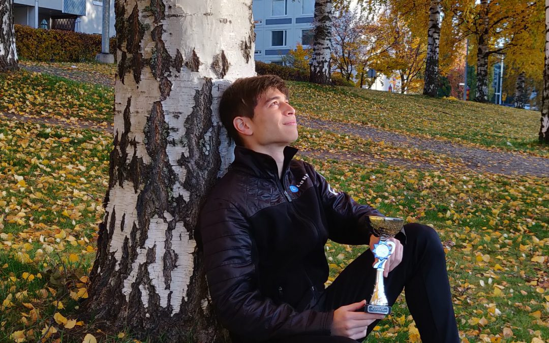 Lucas voittoon SM-junioreiden 1. valintakilpailussa Tampereella