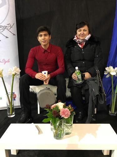 Lucas hienosti hopealle SM-junioreiden 2. valintakilpailussa Vantaalla.